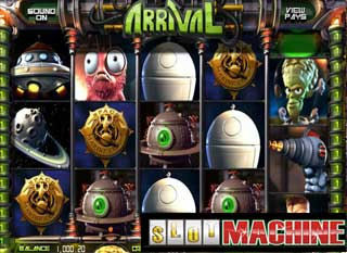 Arrival-Slot-Machine