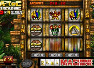Aztec-treasure-progressive-Slot-Machine