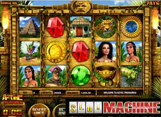 Aztec-treasures-Slot-Machine