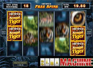 Bengal Tiger Slot machine