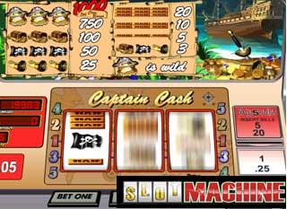 Captain-cash-Slot-Machine