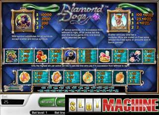 Diamond Dogs slot machine