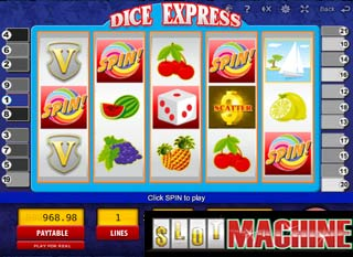 Dice-Express-Slot-Machine