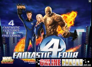 Fantastic 4 Slots - Spielen Sie Playtechs Fantastic Four Spielautomaten