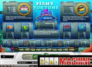 Fishy fortune slot machine