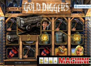 Gold-diggers-Slot-Machine