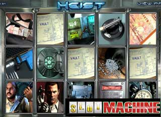 Heist-Slot-Machine