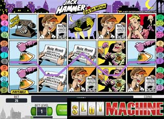 Jack hammer slot machine