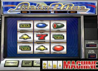 Lucky 8 line slot machine