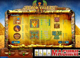 Luxor-Valley-HD-Slot-Machine