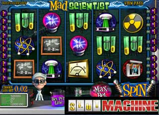 Mad-Scientist-Slot-Machine