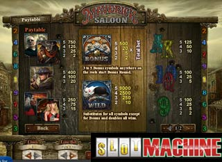 Maverick-Saloon-Slot-Machine
