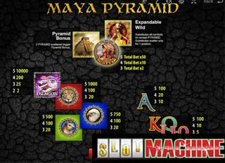 Maya-Pyramid-Slot-Machine