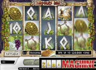 Pandoras box slot machine