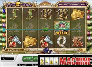 Piggy riches slot machine