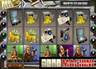 Reel steal slot machine