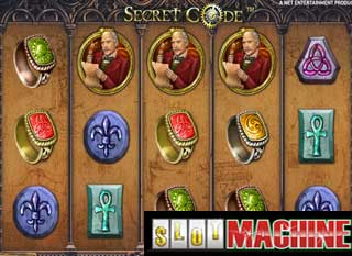 Secret code slot machine