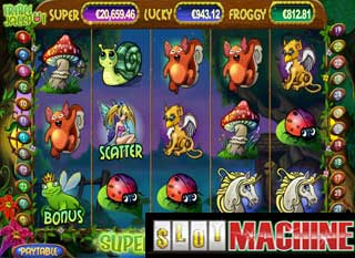 Super lucky frog slot machine