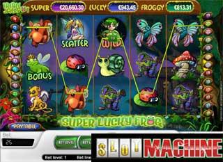 Spiele den Super Lucky Frog Slot bei Casumo.com