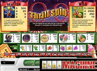 Thrill Spin slot machine