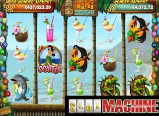 Tiki wonders slot machine