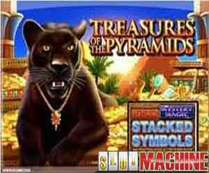 Treasures of the Pyramids  Spielautomaten 1