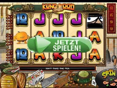 Adler Casino Kung Food Spielautomaten