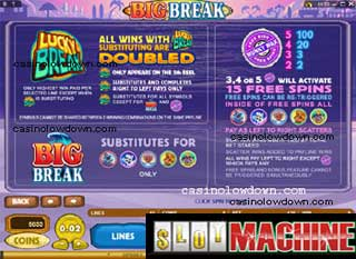 Big Break slot machine