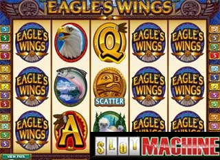 Eagles Wings™ Slot spel spela gratis i Microgaming Online Casinon