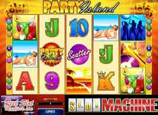 Party Island slot machine