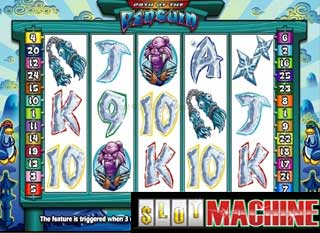 Path of the Penguin slot machine