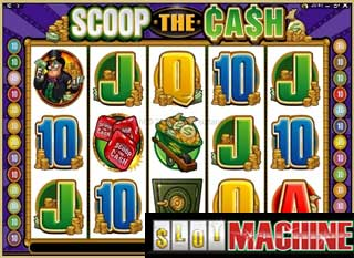Scoop the Cash slot machine