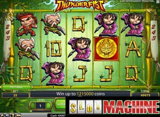 Thunder Fist slot machine