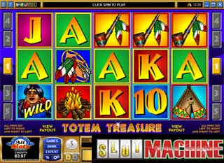 Totem Treasure slot machine