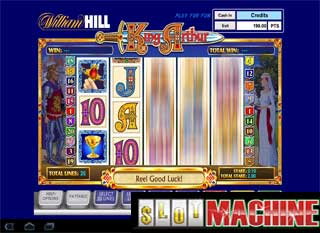 king Arthur Slot machine